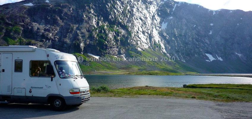 Bivouac près du Langvatnet