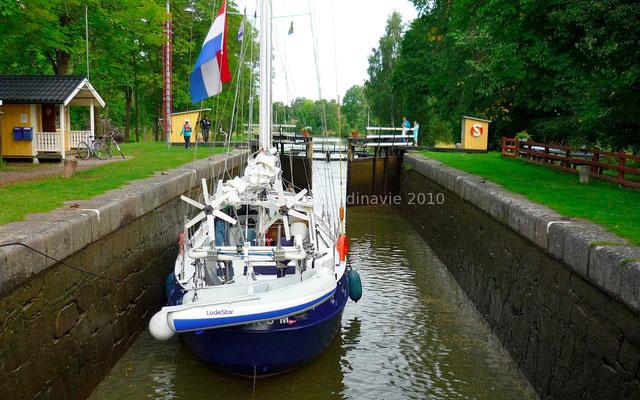 ... sur le Gota Kanal.
