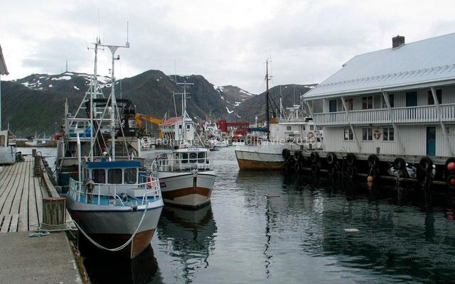 Le port d'Honningsvåg