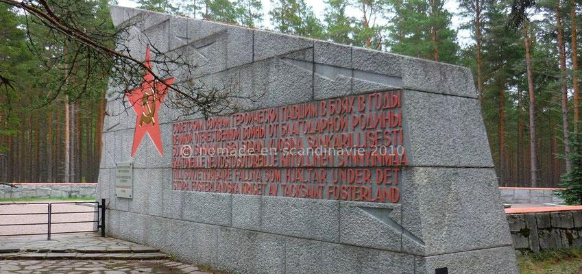 Hanko, cimetière militaire russe de la guerre 39-45