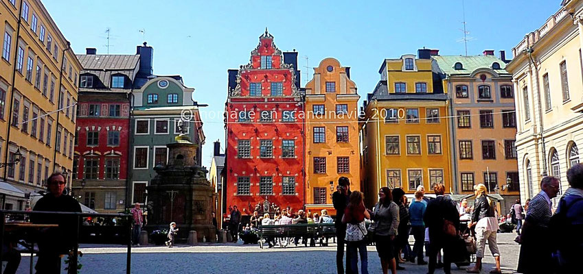 Stockholm, Gamla Stan (la vieille ville)