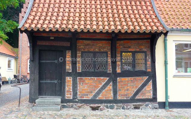 La plus vieille maison à colombages du Danemark (1527)