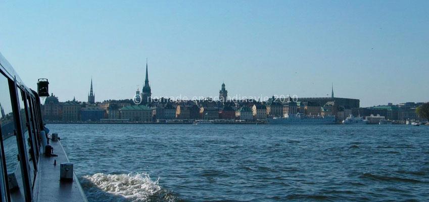 L'eau est omniprésente à Stockholm