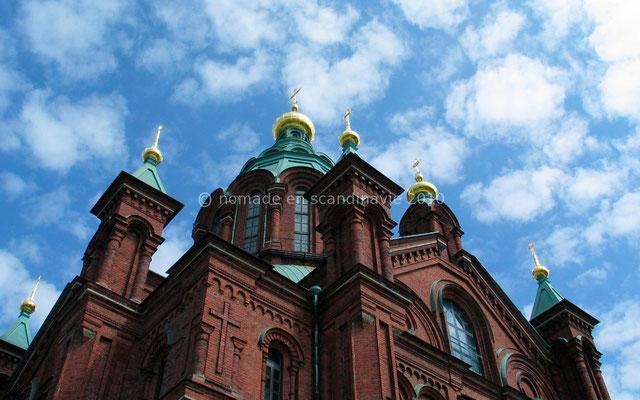 La cathédrale orthodoxe Ouspenski