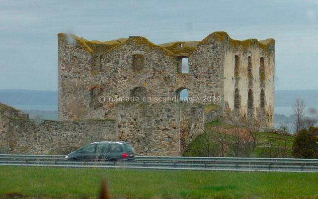 Ruines de Brahehus.