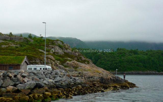 Embarcadère du ferry, Hollingsholmen