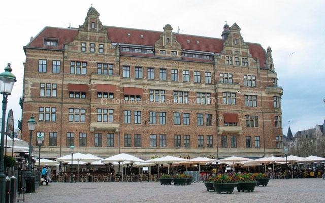 Malmö, terrasse protégée