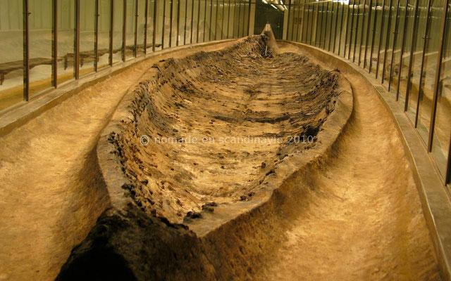 Ladby, musée: le drakkar-sépulture