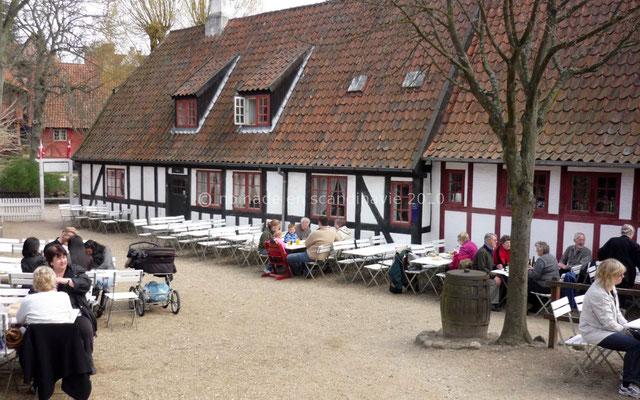 Den Gamle by (la vieille ville), à Aarhus, l'auberge