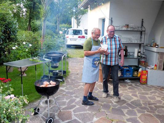 Uli mit Horst (Bernt Halbauer)