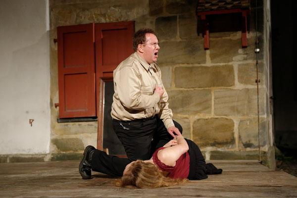 Als Don José in der Oper Carmen © Sören Balendat