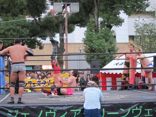 DDTプロレス試合