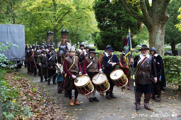 Einmarsch der Regimenter