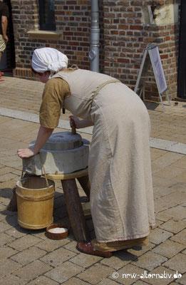 So mühsam wurde im Mittelalter Mehl hergestellt