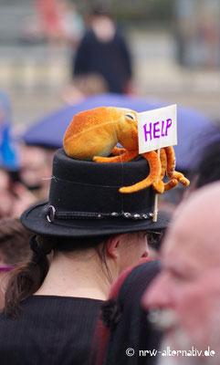 WGT 2019: Trauermarsch für die verschwundenen Arten