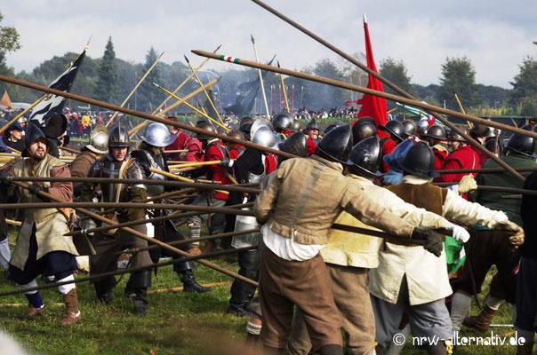 Action währen der Schlacht