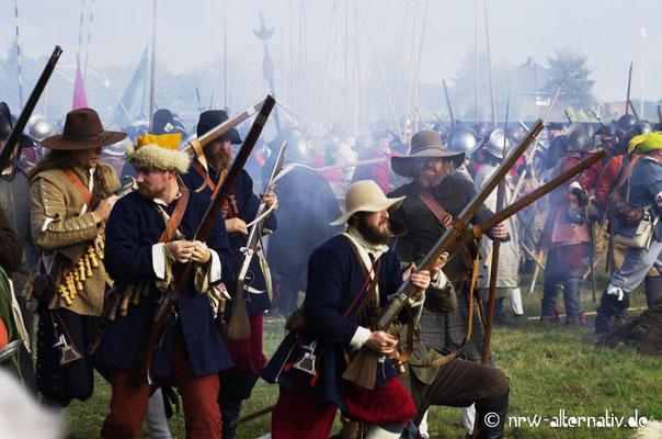 Action auf dem Schlachtfeld