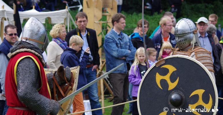 Ritter gegen wilde Horden bei Haus Visbeck