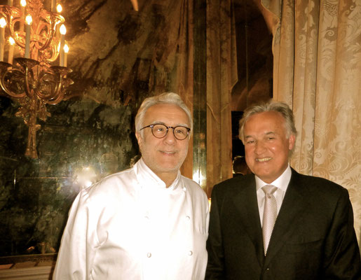 Alain Ducasse at the Louis XV in Monaco