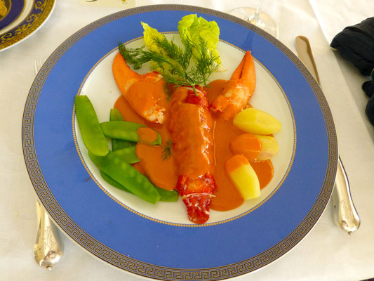 Lobster with paprika sauce by ZsL