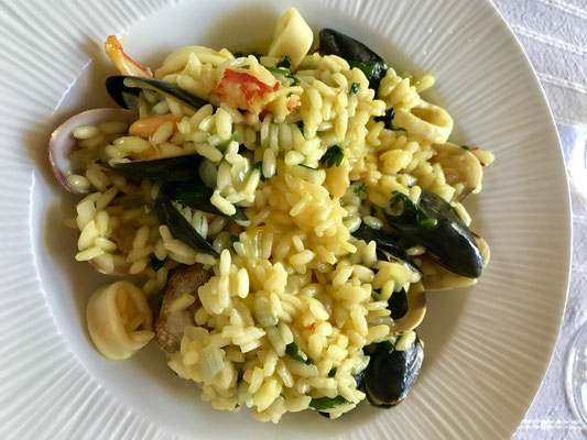 Seafood risotto by ZsL