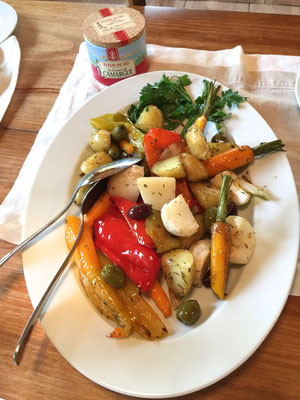 Roasted vegetables by ZsL