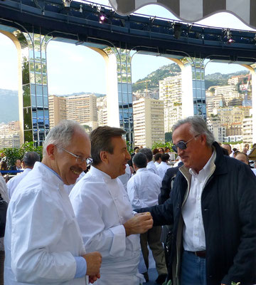 Jacques Chibois and Daniel Boulud