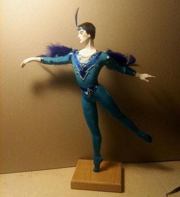 Синяя птица 33 см