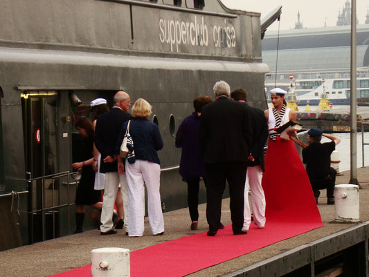 Event Concept & Styling // Supperclub Cruise, Amsterdam