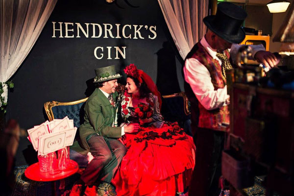 Event Styling // Hendrick's Gin, Amsterdam // Commissioned by Bureau JEZ