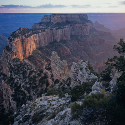 Wotans Throne I Cape Royal I North Rim I Grand Canyon Nationalpark I Arizona