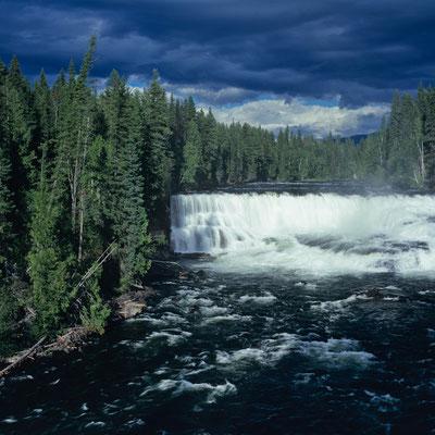 Dawson Falls I Wells Gray Provincial Park I British Columbia I Kanada