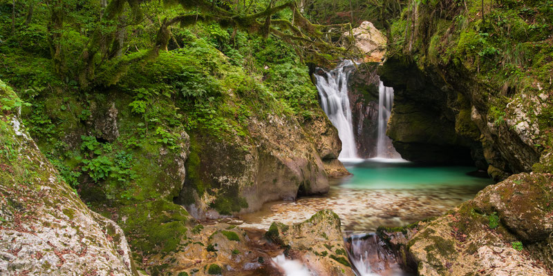 Triglav Nationalpark I Slowenien I Lepenatal