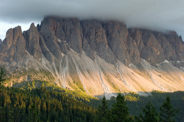 Wolken über den Geislerspitzen I Naturpark Puez-Geisler I Italien