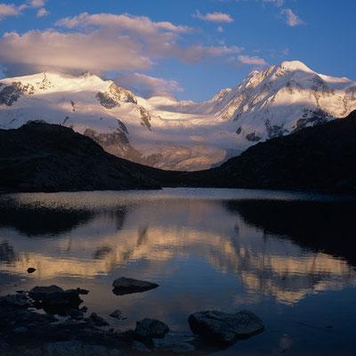 Riffelsee vor Monte Rosa I Wallis I Schweiz