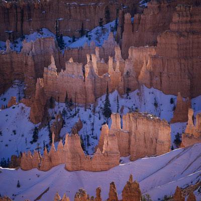 Winter im Bryce Canyon I Sunrise Point