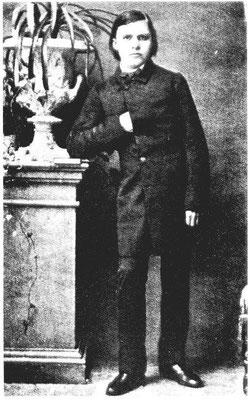 Nietzsche als Schüler (Wikipedia)