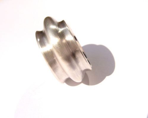 Ring Wave 925/- Sterlingsilber.