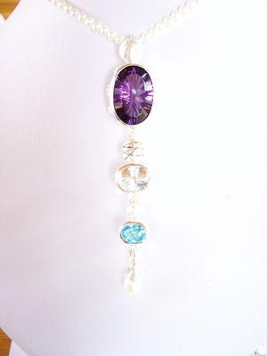 Diese besonderen Steine hat die Kundin selber mitgebracht.