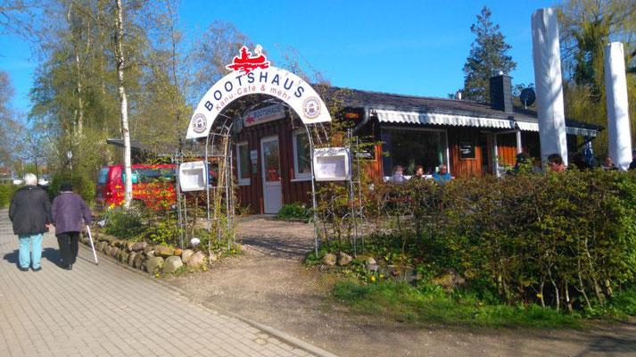 Gaststätte beim Naturcamping Kirchsee