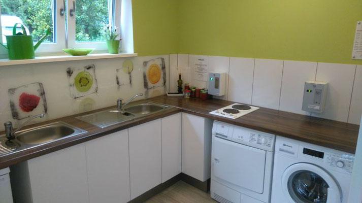 Küche Sanitärgebäude
