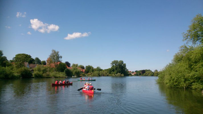 Kanutour auf dem Kirchsee