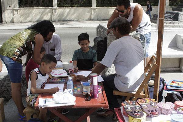 Am el Prado werden die Kinder gefördert