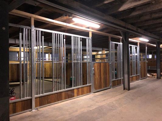 Ausbau Zweitstall im Fichtenhof