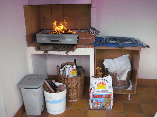 Le coin barbecue