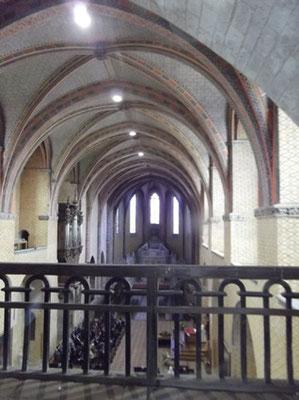 Vue de l'abbatiale Saint-Pierre