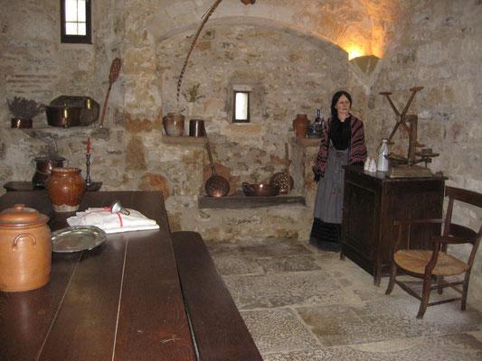 La cuisine du chateau