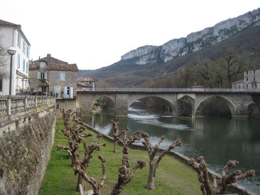 Au bord de l'Aveyron