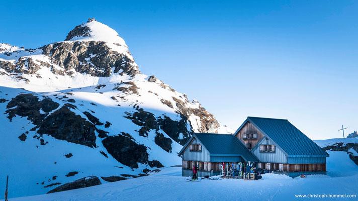 die Prafleuri-Hütte
