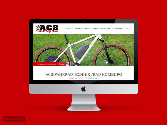 LOGO- & WEBDESIGN ACS FAHRRADTECHNIK BAD HOMBURG